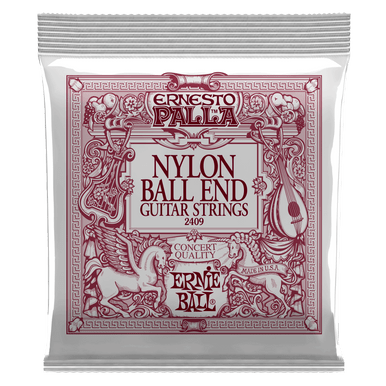 Ernie Ball Ernesto Palla Black and Gold Ball-End Nylon Classical Guitar String