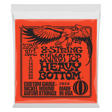 Ernie Ball Skinny Top Heavy Bottom Slinky 8-String Electric Guitar Strings