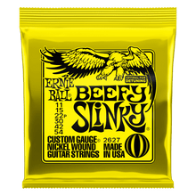Ernie Ball Beefy Slinky Nickel Wound Electric Guitar Strings, 11-54 Gauge