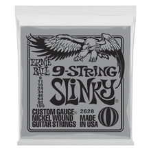Ernie Ball Slinky Nickel Wound Electric Guitar 9-String 9-105 Gauge