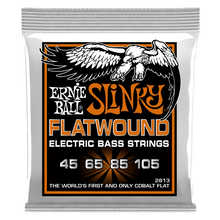 Ernie Ball Hybrid Slinky Flatwound Electric Bass Strings, 45-105 Gauge