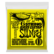 Ernie Ball Slinky W/ Small Ball End 29 5/8 Scale Bass Guitar 6-String 20-90 Gauge