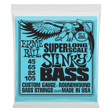 Ernie Ball Super Long Scale Slinky Electric Bass Strings - 45-105 Gauge