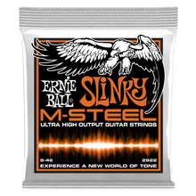 Ernie Ball Hybrid Slinky M-Steel Electric Guitar Strings, 9-46 Gauge
