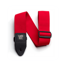 Ernie Ball Red Polypro Guitar Strap