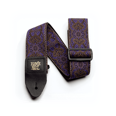 Ernie Ball Purple Paisley Jacquard Strap
