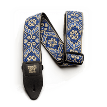 Ernie Ball Tribal Jacquard Guitar Strap, Blue