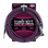 Ernie Ball 7.5 Meter Braided Straight / Angle Instrument Cable, Black / Purple