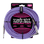 Ernie Ball 7.5 Meter Braided Straight / Angle Instrument Cable, Purple