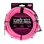 Ernie Ball 3 Meters Braided Straight / Angle Instrument Cable, Neon Pink