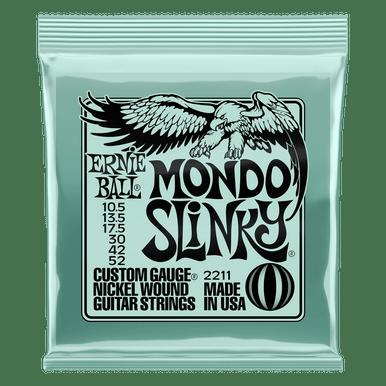 Ernie Ball Mondo Slinky Nickel Wound Electric Guitar Strings 10.5 - 52 Gauge