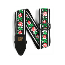 Winter Rose Jacquard Strap
