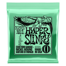 Hyper Slinky Nickel Wound Electric Guitar Strings 8 - 42 Gauge