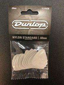 Jim Dunlop Nylon Standard Pick Pack 60mm