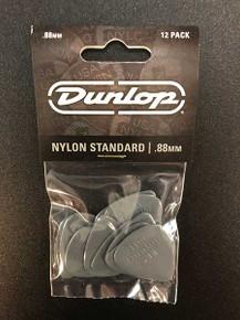 Jim Dunlop Nylon Standard Pick Pack 88mm 12 pack