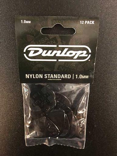 Jim Dunlop Nylon Standard Pick Pack 1mm 12 pack