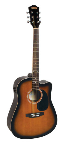Redding Full size Dreadnaught Acoustic Electric Guitar