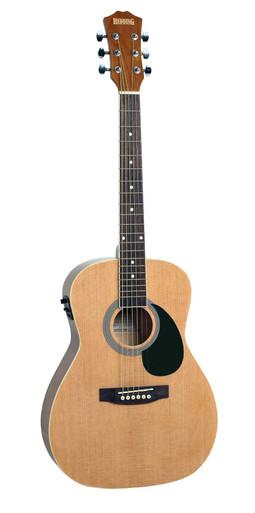 Redding Three Quater Size Acoustic Electric Guitar