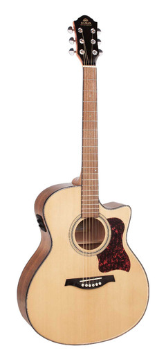 GIlman GA10CE Semi Acoustic Guitar