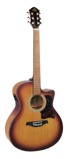 GIlman GA12CE Semi Acoustic Guitar