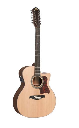 Gilman 12 String GA112CE Semi Acoustic Guitar