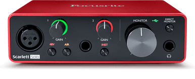 Focusrite Scarlett solo Recording interface