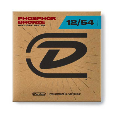 Dunlop Acoustic Guitar strings 12-54 Light Phosphor Bronze
