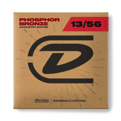 Dunlop Acoustic Guitar strings 13-56 Medium Phosphor Bronze