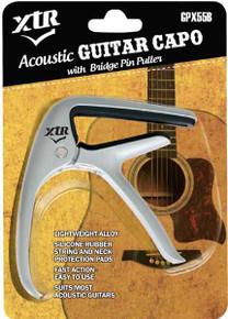Guitar Capo Trigger Style Chrome