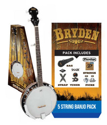 Bryden Banjo Package 5 string