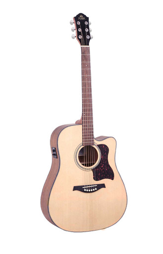 Gilman GD10CE Semi Acoustic Guitar