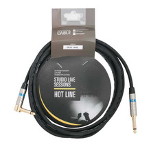 Hotline 10 Foot Guitar Cable 3 Metre One Right Angle Jack