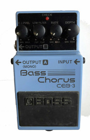 Boss Bass Chorus CEB3 Bass Guitar effect pedal