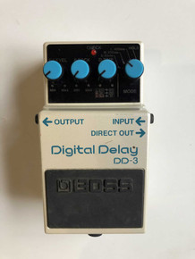 Boss DD3 Digital delay electric guitar effect pedal