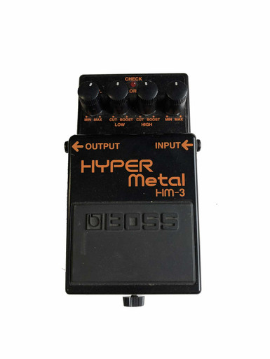 Boss HM3 Hyper Metal electric guitar pedal