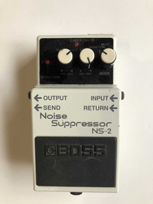 Boss Ns2 Noise Suppressor electric guitar pedal