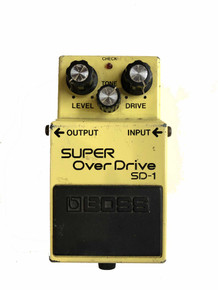 Boss Super Overdrive SD1 Made in Japan