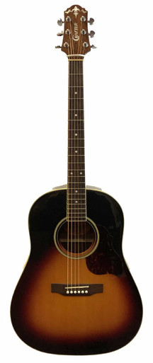 Crafter Slope shoulder Acoustic guitar made in Korea