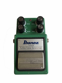 Ibanez Tubescreamer deluxe TS9DX electric guitar pedal USED