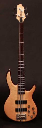 Cort A4 Plus FMMH Artisan series bass