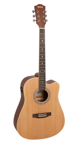 Redding Spruce Top Dreadnaught Semi Acoustic Guitar