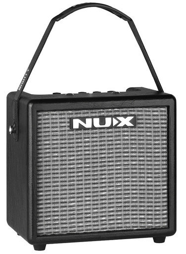 NU-X MIGHTY8BT Portable Digital 8W Guitar Amplifier with Bluetooth & Effects