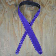 Violet Double Suede Guitar Strap