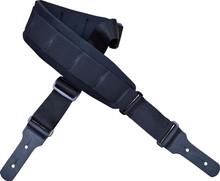 Black Neoprene Padded Short Guitar Strap