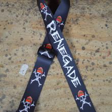 Renegade Printed Webbing Guitar Strap