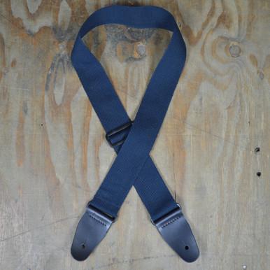 """2.5"""" Slide Adjustable Cotton Webbing Guitar Strap"""