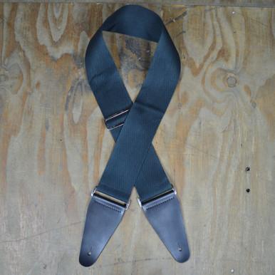 """3.5"""" Slide Adjustable Cotton Webbing Guitar Strap"""