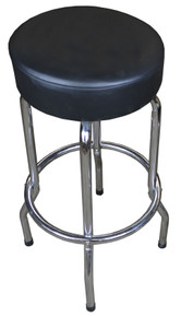 Genuine Leather Upholstered Tall Guitar Stool
