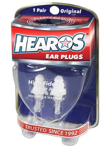 HEAROS HIGH FIDELITY (MUSICIAN'S) EAR PLUGS
