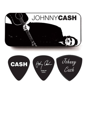 Johhny Cash legend Pick Tin with 6 picks